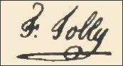 Handtekening François Frédéric JOLLY