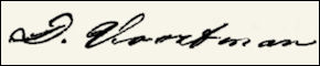 Handtekening Daniel VOORTMAN