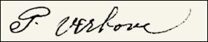 Handtekening Pieter VERBOVE
