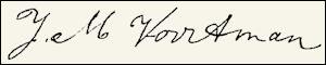 Handtekening Annemarie VOORTMAN